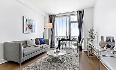 Living Room, 50-11 Queens Blvd 808, 1