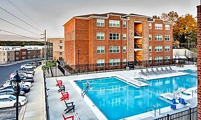 Pool, Evolve Tuscaloosa - Per Bed Lease, 0