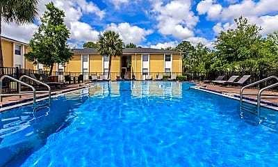 Pool, Riverview Apartments, 0