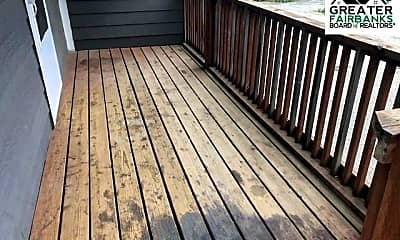 Patio / Deck, 1905 Chena Point Ave 1, 2