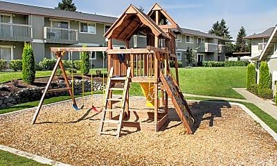Playground, Trellis on Orchard, 2