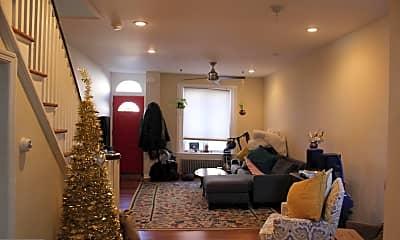 Living Room, 2340 Watkins St, 1