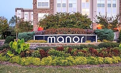 Community Signage, Manor Six Forks Apartments, 0