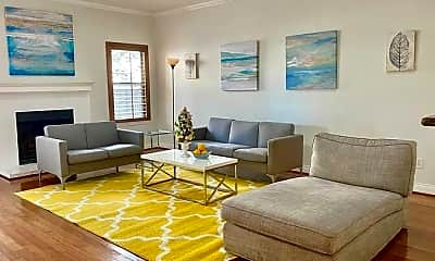 Living Room, 9800 Pagewood Ln 3303, 2