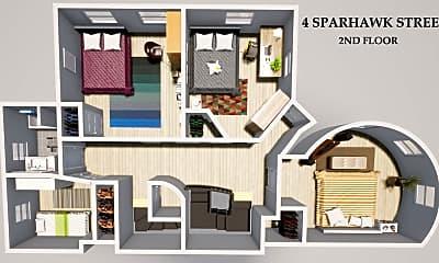 4 Sparhawk #4 Boston - Brighton Shared Unit Photo 2.jpg, 4 Sparhawk St. #4, 1