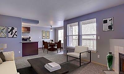 Living Room, Stark Street Crossing, 1