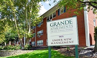 Community Signage, Grande Apartments, 2