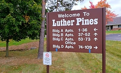 Luther Pines, 1