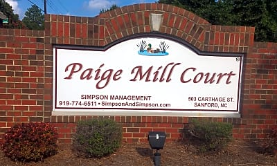 Paige Mill Court, 1