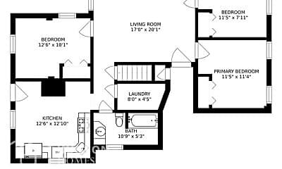 Bedroom, 199 Andover St, 2