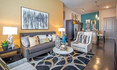 Living Room, 507 Sabine, 2