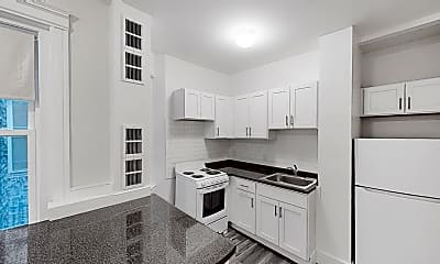 Kitchen, 1788 Beacon St., #4A, 1
