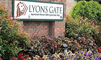 Community Signage, Lyons Gate, 1