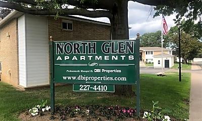 North Glen Apartments, 1