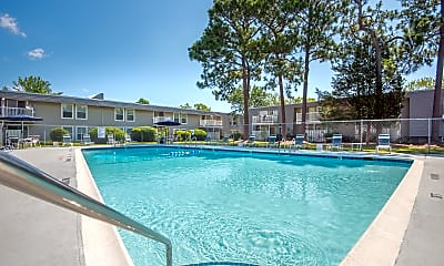 Pool, Pines Of Wilmington, 2