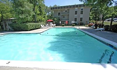 Pool, Falls At Cottonwood Creek, 1