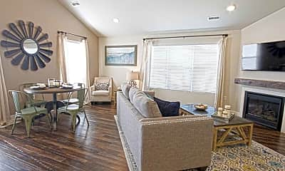 Living Room, The Quarry Apartments, 1