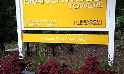 Branchwood Towers, 1