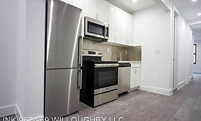 Kitchen, 969 Willoughby Ave, 1