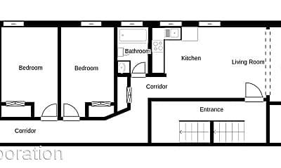 Living Room, 296 Park St, 2