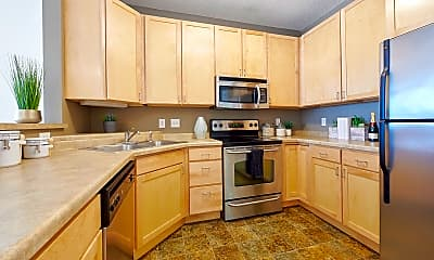 Kitchen, Hiawatha Flats, 1