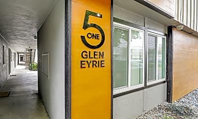 Community Signage, Glen Eyrie Apartments, 0