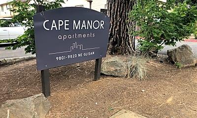 Cape Manor, 1