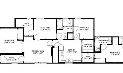 Bathroom, 1557 Fifth St, 2