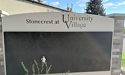 University Village and stonecrest Apartments, 1