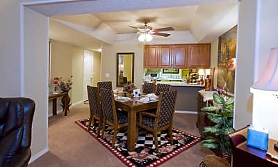 Kitchen, Seasons Three Apartments, 1