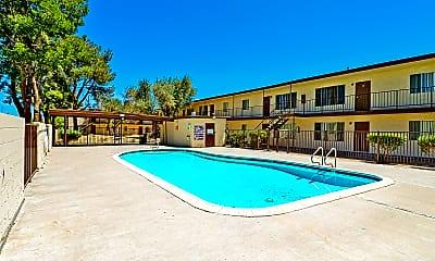 Pool, Pine Village, 1