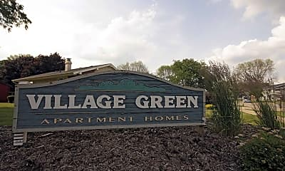 Community Signage, Village Green East Apartments, 2