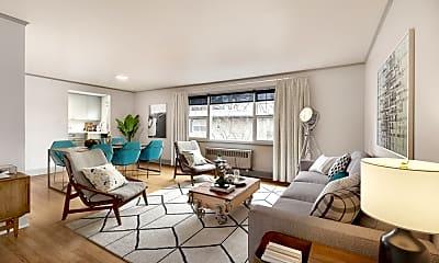 Living Room, Shorewood Heights, 0