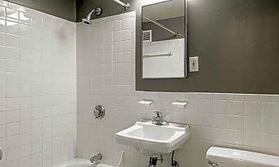 Bathroom, Kent Farm Apartment Homes, 2