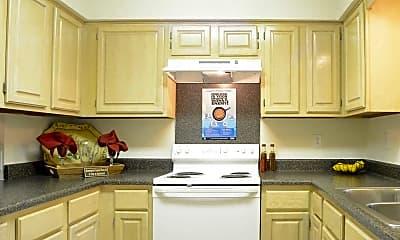 Kitchen, Briar Creek Apartments, 1