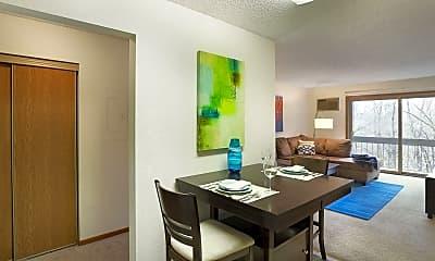 Dining Room, Park Pointe, 1