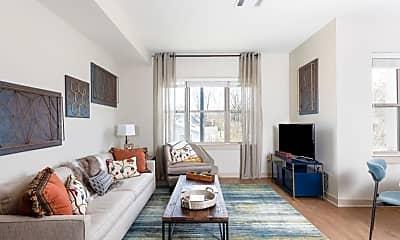 Living Room, 3912 Elkins Alley, 1