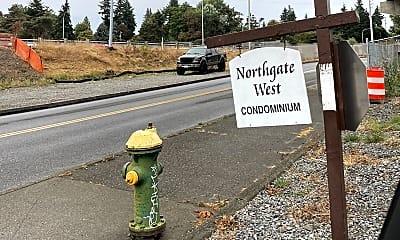 Community Signage, 11300 1st Ave NE, 2