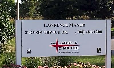 Lawrence Manor, 1