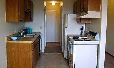 Kitchen, Echo Manor, 1