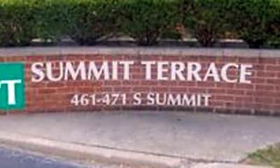 Community Signage, 465 S Summit St, 0