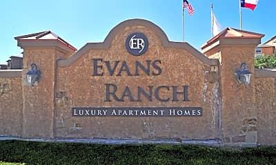 Community Signage, Evans Ranch Apartments, 2