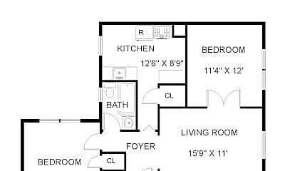 Kitchen, 146 Walnut St, 2