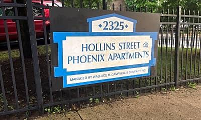 Hollins Street Phoenix Apartments, 1