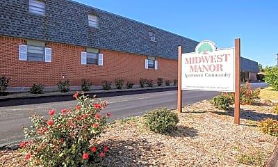 Community Signage, Midwest Manor, 2