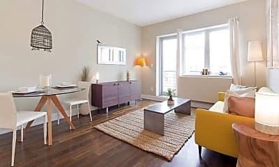 Living Room, 100 Maspeth Ave 5-H, 0