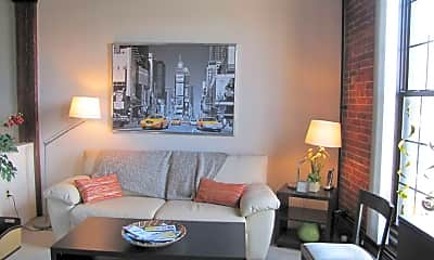Living Room, Union Place Apartments, 0