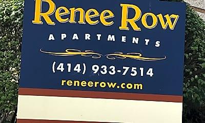 Renee Row, 1