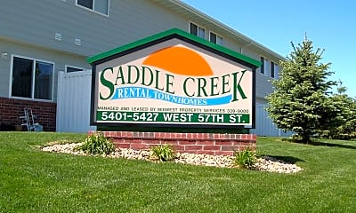 Community Signage, 5415 W 57th St, 2