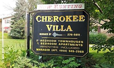 Cherokee Villa, 1